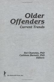 Cover of: Older offenders