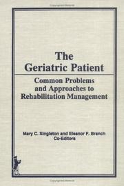 Cover of: The Geriatric patient