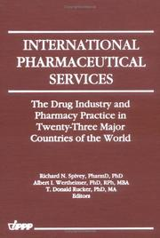 Cover of: International pharmaceutical services |
