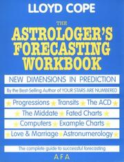 Cover of: The astrologer's forecasting workbook