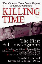 Cover of: Killing time