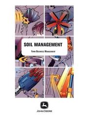 Cover of: Soil Management