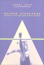 Cover of: Beyond Standards: Excellence in the High School English Classroom