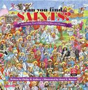 Cover of: Can You Find Saints? | Philip D. Gallery