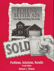 Cover of: Building better ads | Richard Elkman