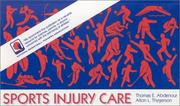 Cover of: Sports injury care