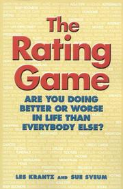Cover of: The Rating Game