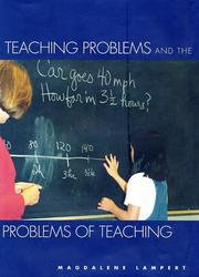 Cover of: Teaching Problems and the Problems of Teaching | Magdalene Lampert