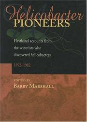 Cover of: Helicobacter Pioneers | Barry Marshall