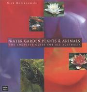 Cover of: Water garden plants & animals