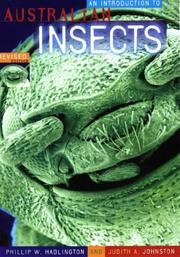 Cover of: An introduction to Australian insects