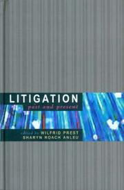 Cover of: Litigation