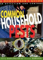Cover of: Common household pests