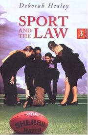 Cover of: Sport and the law