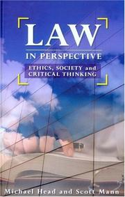 Cover of: Law in perspective |