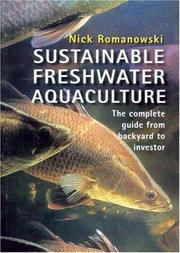 Cover of: Sustainable freshwater aquaculture