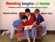 Cover of: Reading Begins at Home | Dorothy Butler