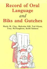 Cover of: Record of Oral Language and Biks and Gutches