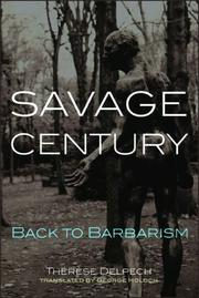 Cover of: Savage Century | Therese Delpech