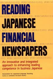 Cover of: Reading Japanese financial newspapers = |