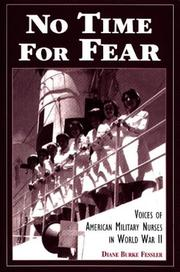 Cover of: No time for fear