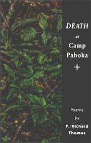 Cover of: Death at Camp Pahoka | F. Richard Thomas