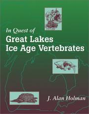 Cover of: In Quest of Great Lakes Ice Age Vertebrates