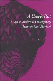 Cover of: A usable past | Paul L. Mariani