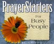 Cover of: PrayerStarters for busy people