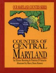 Cover of: Counties of central Maryland