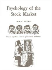 Cover of: Psychology of the Stock Market | G. C. Selden