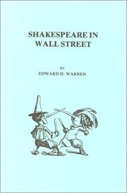 Cover of: Shakespeare in Wall Street