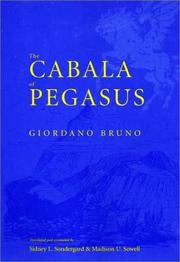 Cover of: The cabala of Pegasus