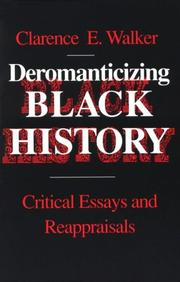 Cover of: Deromanticizing Black history
