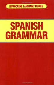 Cover of: Spanish Grammar (Hippocrene Language Studies) | Davidovic Mladen, Hippocrene Books