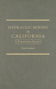 Cover of: Hydraulic Mining in California