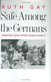 Cover of: Safe Among the Germans