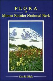Cover of: Flora of Mount Rainier National Park