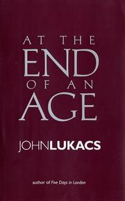 Cover of: At the End of an Age