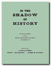 Cover of: In the shadow of history