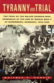 Cover of: Tyranny on trial