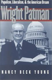 Cover of: Wright Patman | Nancy Beck Young