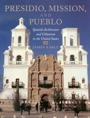 Cover of: Presidio, mission, and pueblo | James Early