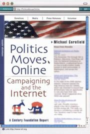 Cover of: Politics Moves Online