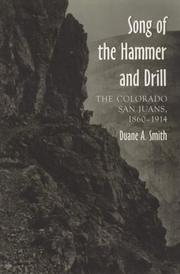Cover of: Song of the Hammer and Drill