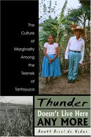 Cover of: Thunder Doesn
