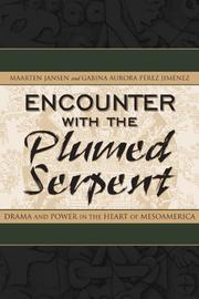 Cover of: Encounter With the Plumed Serpent | Maarten Jansen