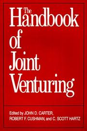 Cover of: The Handbook of joint venturing |