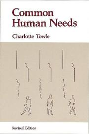 Common human needs by Charlotte Towle