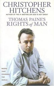 Cover of: Thomas Paine's Rights of man: a biography